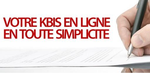 commande d'extrait de kbis